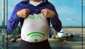 Eu gosto do wifi Fotografia de Stock Royalty Free