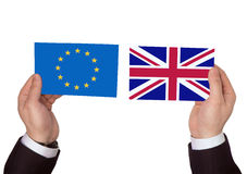 EU and Great Britain Royalty Free Stock Images