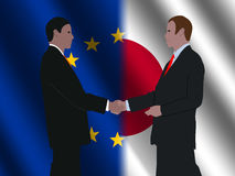 EU Japanese business meeting Stock Photos