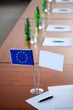 EU kennzeichnen lizenzfreie stockfotografie