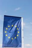 EU kennzeichnen, Euroflagge Lizenzfreie Stockfotos