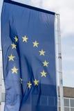 EU kennzeichnen, Euroflagge Lizenzfreie Stockbilder