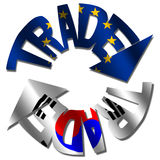 EU Korean trade Stock Photos