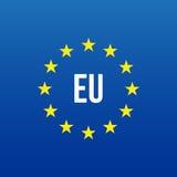 EU logo. European union. Vector Royalty Free Stock Photography