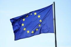 EU-Markierungsfahne Stockfotografie
