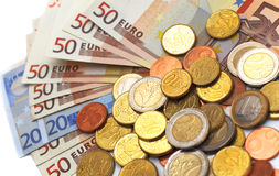 Eu money Stock Photo