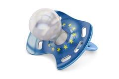 EU-Mutterschaft und Geburtenratenkonzept, Wiedergabe 3D Stockfotos