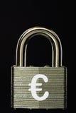 EU Padlock.  Royalty Free Stock Photography