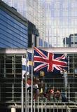 Eu parliament building brussels belgium europe Royalty Free Stock Image