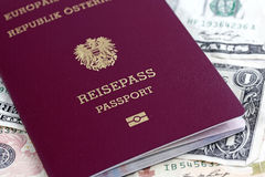 EU passport Stock Photography