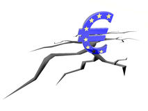 EU problems Royalty Free Stock Image
