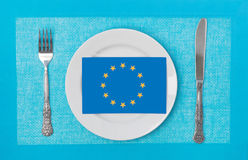Eu products Stock Photography
