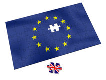 EU puzzle Royalty Free Stock Images