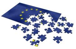 EU puzzle Stock Image