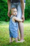 Eu quero ser com mamã Imagem de Stock
