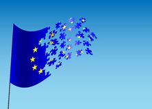 Eu scatter Stock Photo