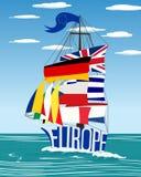 EU ship Stock Photos