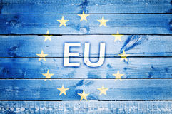 EU sign Royalty Free Stock Photo