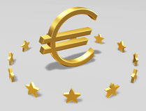 EU sign royalty free stock photography