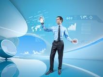 Eu sou no futuro! Imagens de Stock