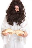 Eu sou o pão da vida Imagem de Stock