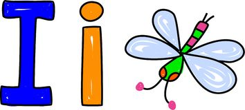 Eu sou para o inseto ilustração do vetor