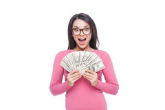 Eu sou tão rico! Foto de Stock Royalty Free