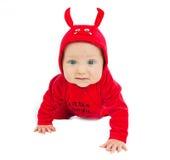 Eu sou um diabo pequeno! Fotografia de Stock Royalty Free