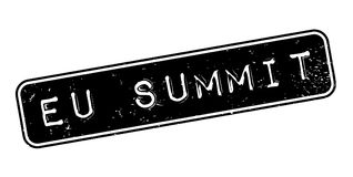 Eu Summit rubber stamp Royalty Free Stock Photography