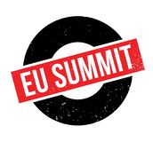 Eu Summit rubber stamp Stock Photography
