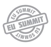 Eu Summit rubber stamp Royalty Free Stock Image