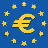 EU Symbols. Emblem Royalty Free Stock Image