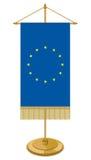 EU table flag Royalty Free Stock Photos