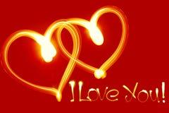 Eu te amo! Imagem de Stock Royalty Free