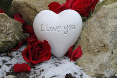 Eu te amo Foto de Stock Royalty Free