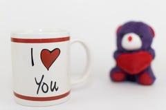 Eu te amo! Fotografia de Stock Royalty Free