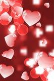 Eu te amo, cartão colorido Imagem de Stock