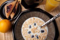 Eu te amo cereal Imagem de Stock Royalty Free