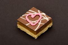 Eu te amo chocolates Imagem de Stock