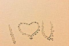 Eu te amo, declaração do amor imagens de stock