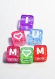 Eu te amo mamã - o dia de mãe feliz Imagens de Stock