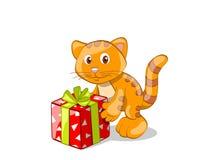 Eu tenho um presente para você! Imagens de Stock Royalty Free