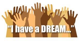 Eu tenho um sonho/eps Fotografia de Stock Royalty Free