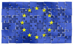 EU verwirren Stockbild