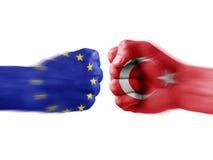EU x Turkey Stock Image
