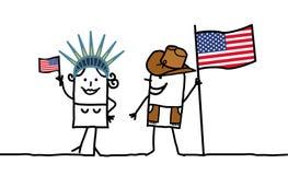 EUA! ilustração royalty free