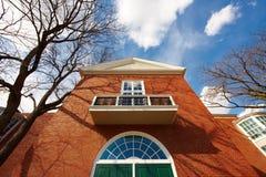 EUA, Boston, 02 04 2011: Universidade de Harvard, Aldrich fotos de stock