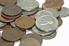EUA - Centavos - 4 Foto de Stock Royalty Free