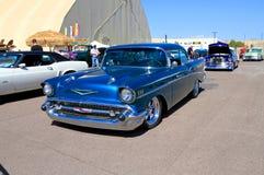 EUA: Chevrolet automobilístico clássico Bel Air (1957) Foto de Stock Royalty Free