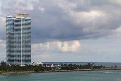 EUA, Florida Miami - costa atlântica Imagem de Stock Royalty Free
